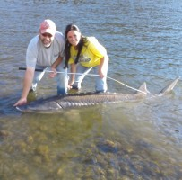 sturgeon pic me and mel